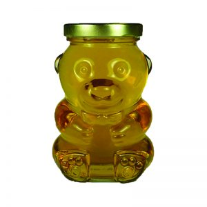 12 oz. Glass Bear Jar