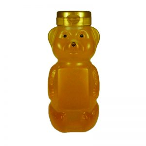 12 oz. LDPE Panel Bear Bottle